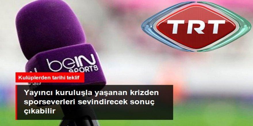 """Kulüpler """"Bazı maçları TRT yayınlasın"""" önerisinde bulundu"""