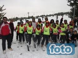 İşte geleceğin kayakcıları!