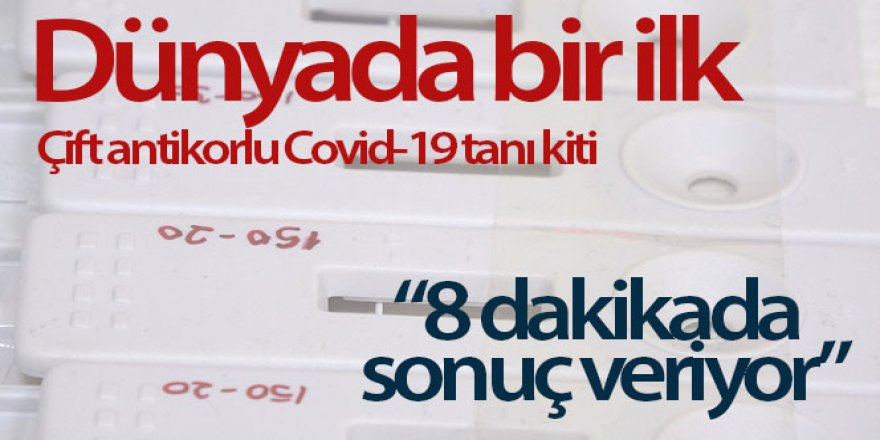 Çift antikorlu Covid-19 tanı kiti ÇOMÜ'de geliştirildi