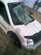 Şenkaya'da Kaza; 5 yaralı