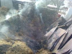 Şenkaya'da Yangın!
