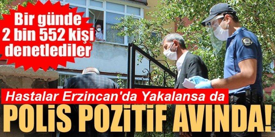 Erzurum'da polis pozitif avında!
