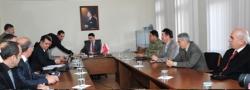 Erzurum'da spor güvenliği toplantısı