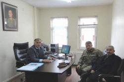 Erzurum'da şehit ailesi unutulmadı