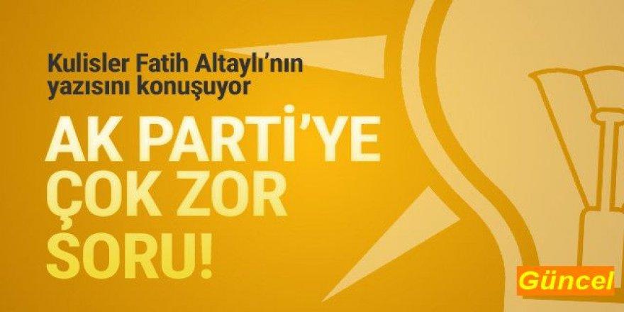 AK Parti'ye zor soru: ''Bu fişleme değil mi ?''
