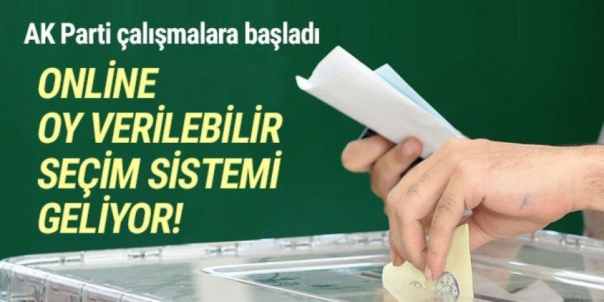 AK Parti'den şimdide ''online seçim'' hamlesi!
