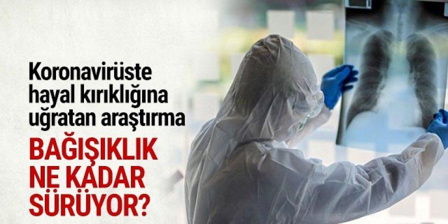 Koronavirüse karşı bağışıklık ne kadar sürüyor?