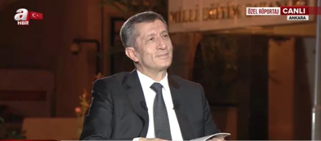 Milli Eğitim Bakanı Ziya Selçuk'tan canlı yayında önemli açıklamalar