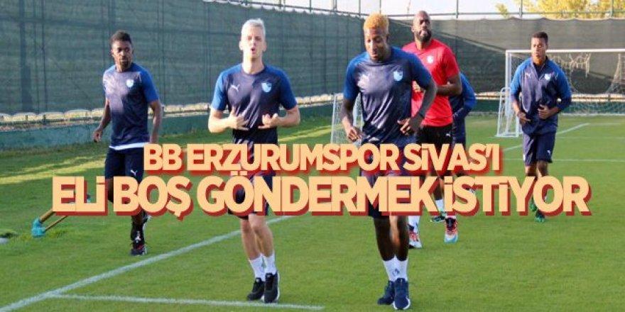 Erzurumspor Sivas'ı eli boş göndermek istiyor