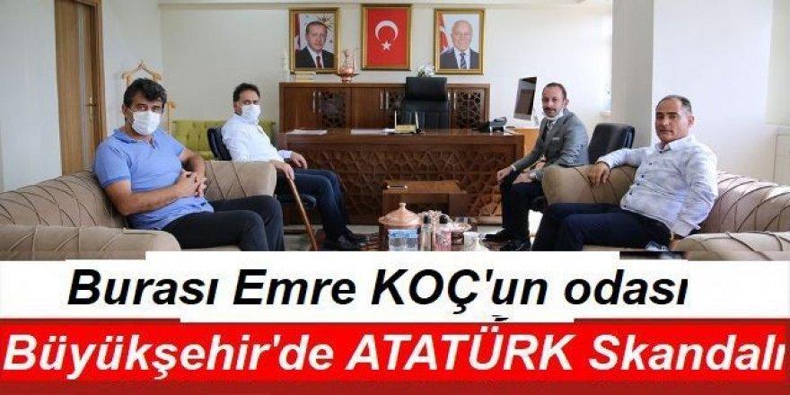 Büyükşehir'de Atatürk skandalı