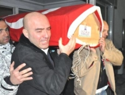 Cenaze İstanbul'a Götürüldü