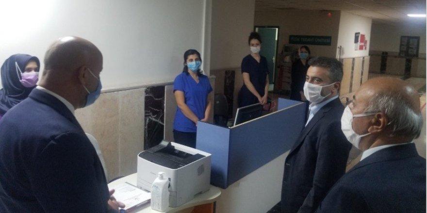Sağlık Müdürü Bedir'den anlamlı ziyaret