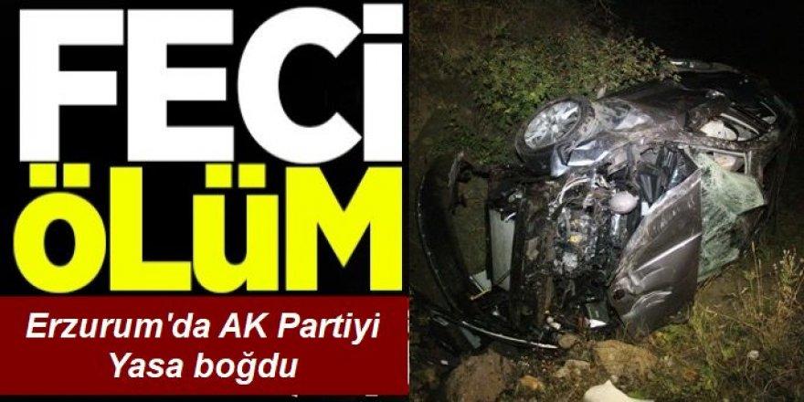 Erzurum'da feci ölüm