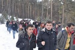500 öğrenci şehit ziyaretinde