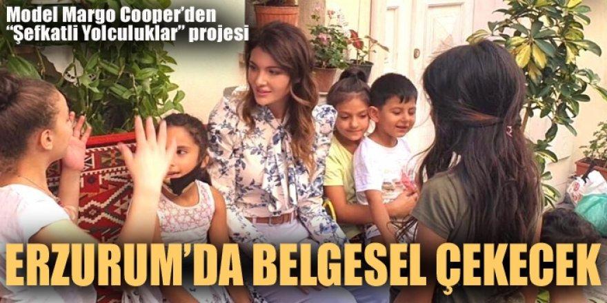 Margo Cooper Erzurum'da belgesel çekecek
