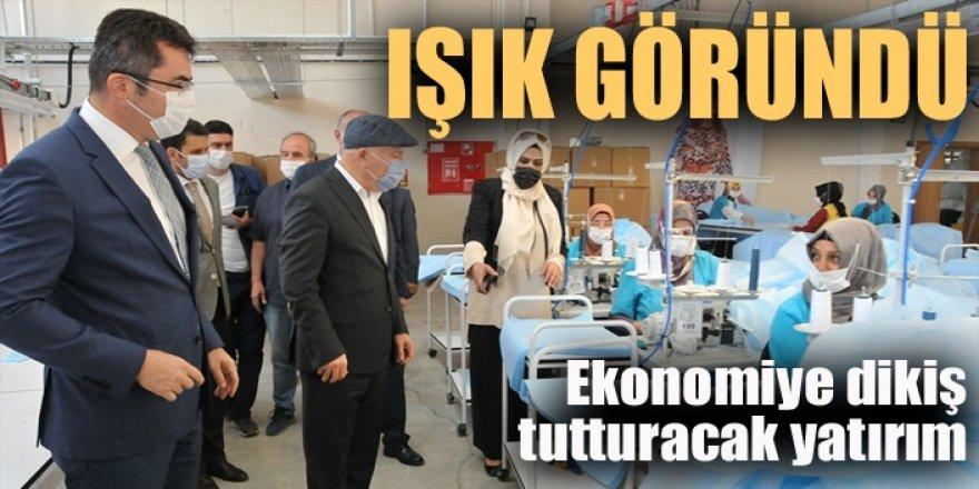 Erzurum'da Kalkınmanın kurtuluş meşalesini yaktılar...