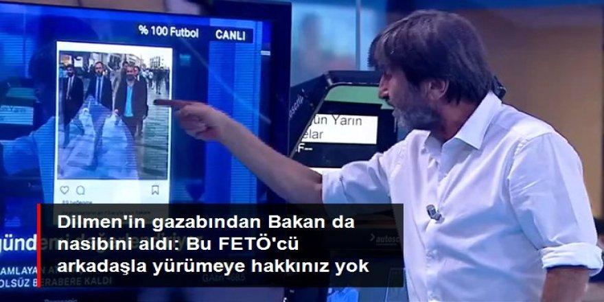 Rıdvan Dilmen'den Bakan Kasapoğlu'na: Bu FETÖ'cü arkadaşla yürümeye hakkınız yok