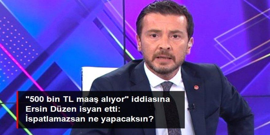 """Altaylı'nın """"500 bin TL maaş alıyor"""" iddiasına Düzen'den sert yanıt"""