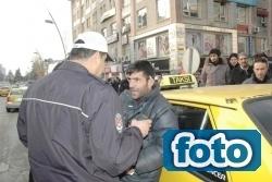 Taksiciler sonunda isyan etti!