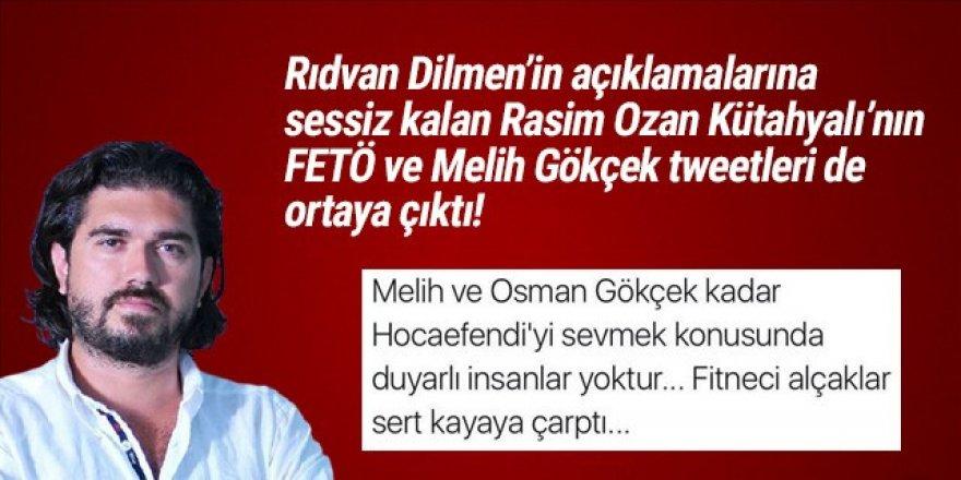 Rasim Ozan Kütahyalı'nın FETÖ ve Gökçek tweetleri de ortaya çıktı