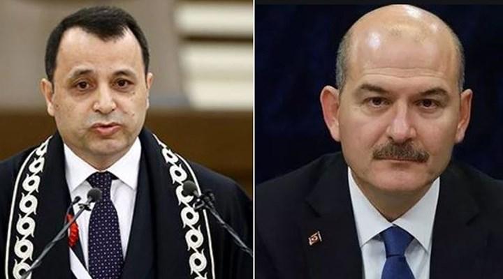 AYM Başkanı Zühtü Arslan'dan İçişleri Bakanı Süleyman Soylu'ya yanıt