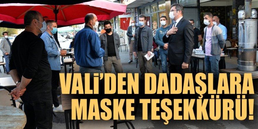 Vali Memiş sokak sokak gezip uyarıyor!
