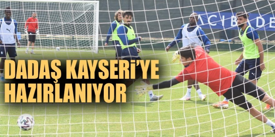 Erzurumspor'da Kayserispor maçı hazırlıklar