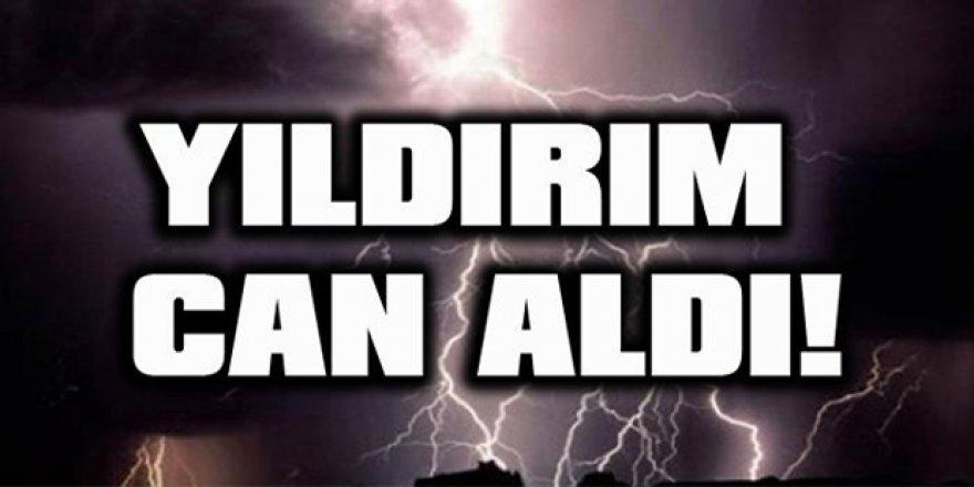 Erzurum'da yıldırım isabet eden bir kişi öldü