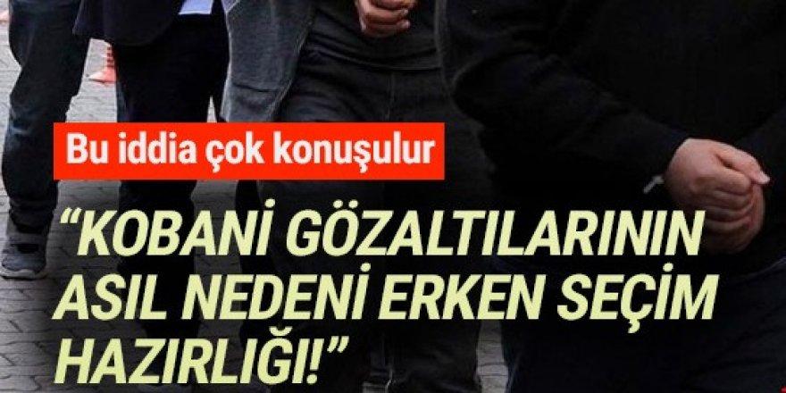 İbrahim Uslu: ''HDP'ye operasyonun nedeni erken seçim''