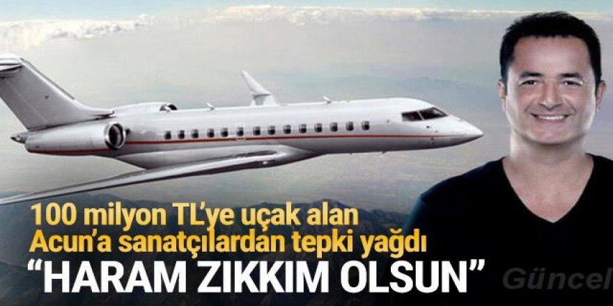 Uçak alan Acun Ilıcalı'ya sanatçılardan tepki: Haram zıkkım olsun
