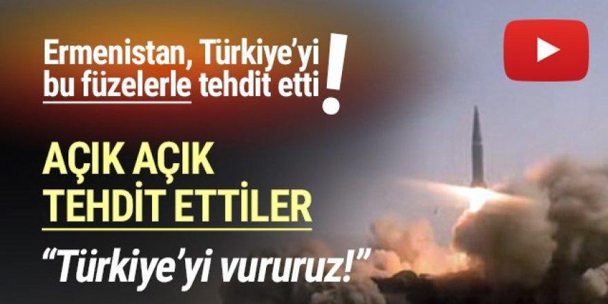 Ermenistan Türkiye'yi açık açık tehdit etti!