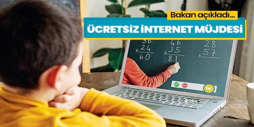 Bakan Karaismailoğlu'ndan ücretsiz internet müjdesi