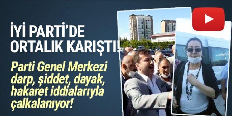 İYİ Parti Genel Merkezi karıştı!