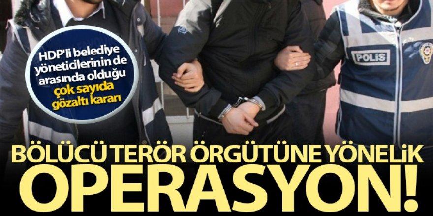 Kars merkezli operasyon: 19 gözaltı