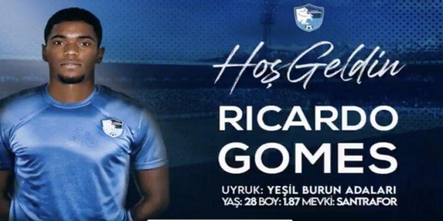 Erzurumspor, forvet Ricardo Gomes'i kiralık olarak kadrosuna kattı