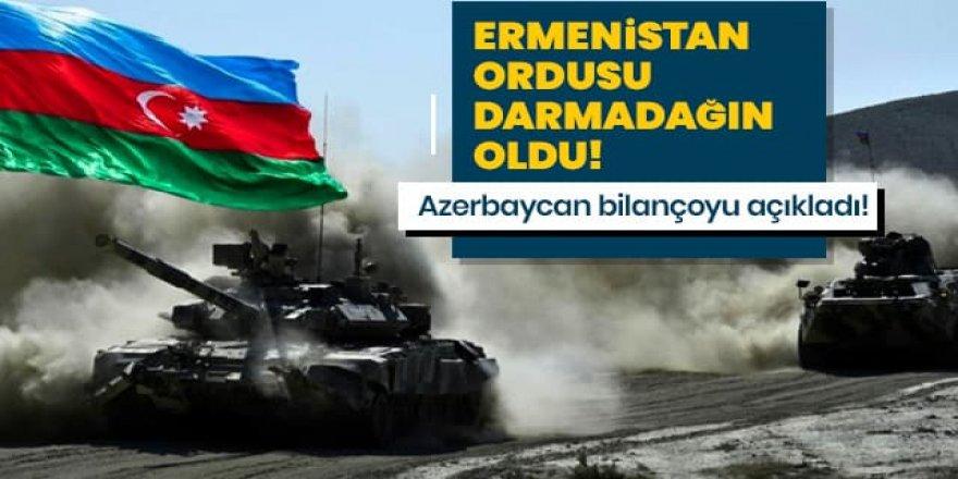 Ermenistan ordusu darmadağın oldu!