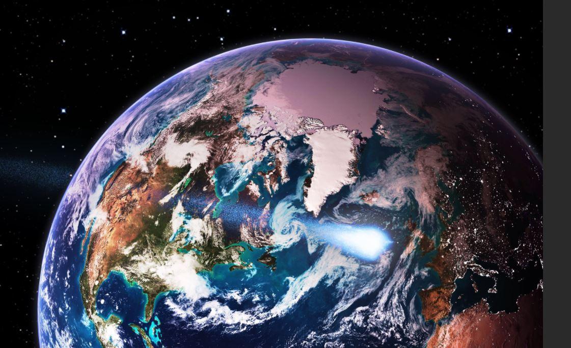 2 bin 400 kilometre hızla Dünya'ya yaklaşıyor. Gelen cismin ne olduğu bilinmiyor