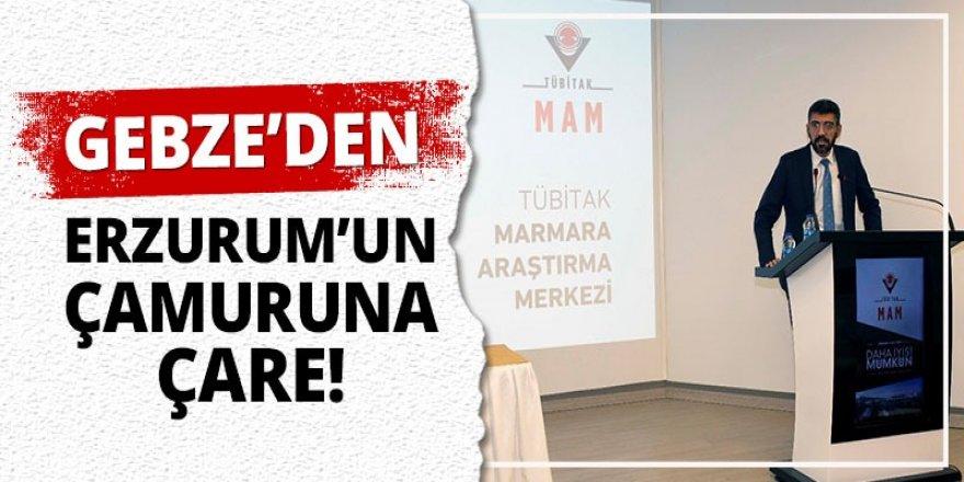 Gebze'den Erzurum'un çamuruna çare!