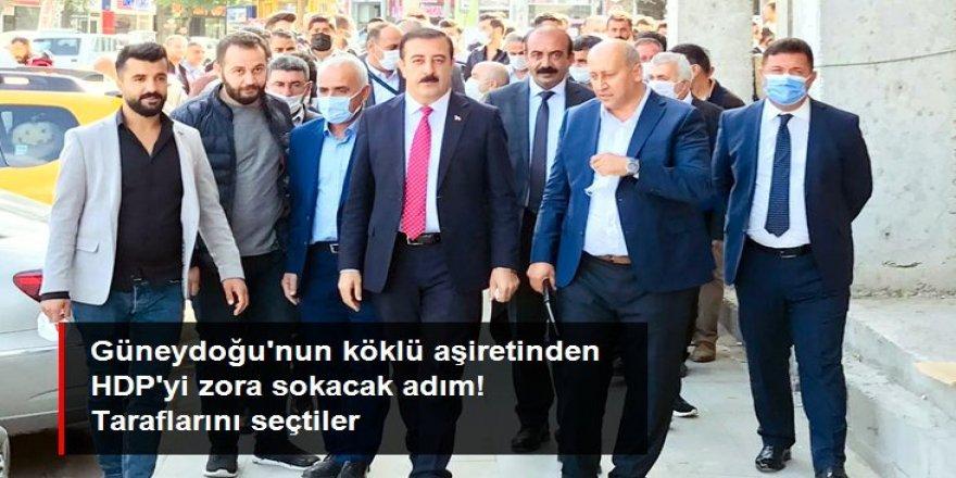 Jirki aşiretinin önde gelenleri AK Parti'ye katıldı