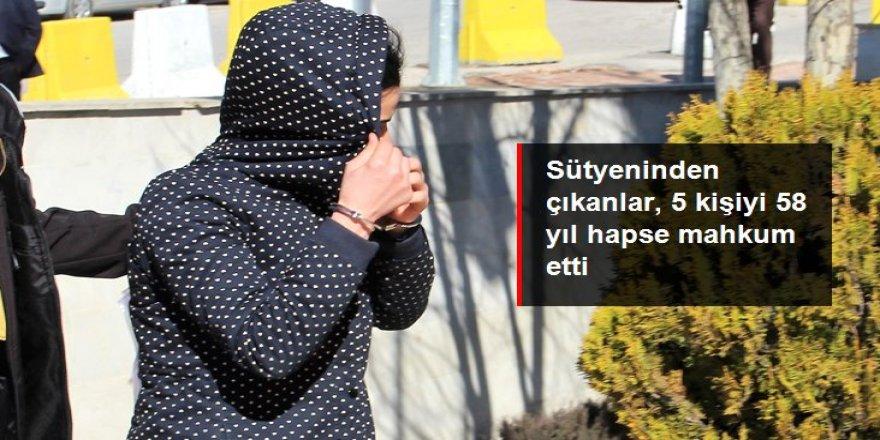 Kadın şüphelinin sütyeninden çıkanlar, 5 kişiyi 58 yıl hapse mahkum etti