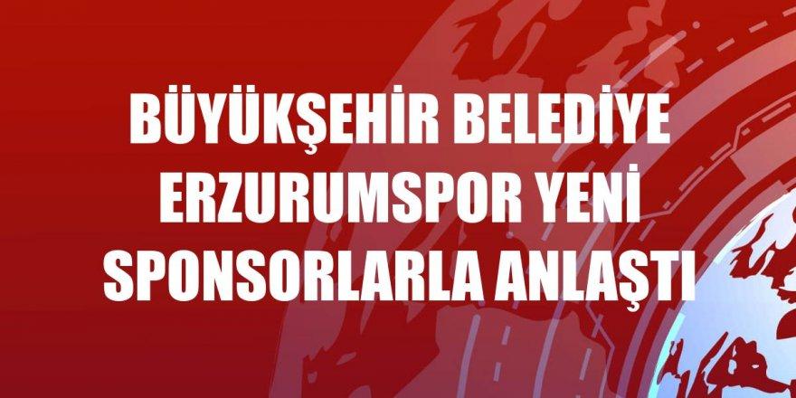 Erzurumspor yeni sponsorlarla anlaştı