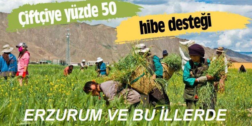 Çiftçiye yüzde 50 ve yüzde 70 hibe desteği geliyor