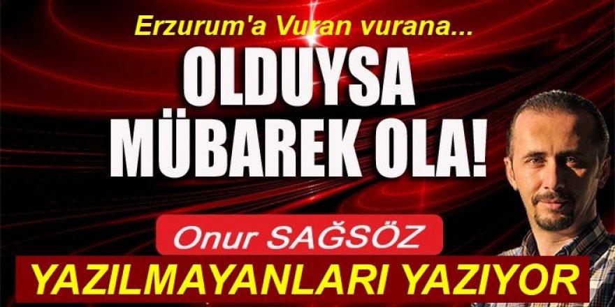 Erzurum'da vuran vurana