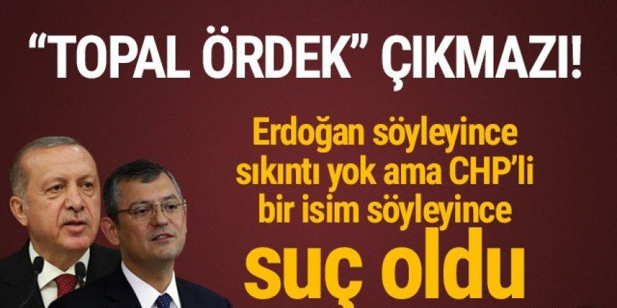 Erdoğan'ın kurduğu cümleyi CHP'li Özel kurunca...
