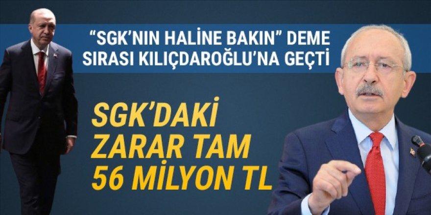 SGK'de 56 milyon TL açık!