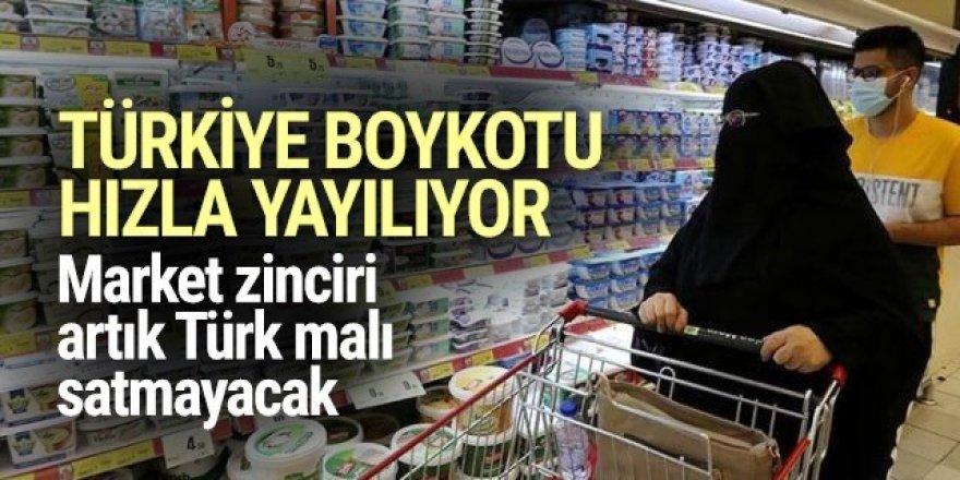 Suudi Arabistan'ın Türkiye boykotuna market zinciri de katıldı