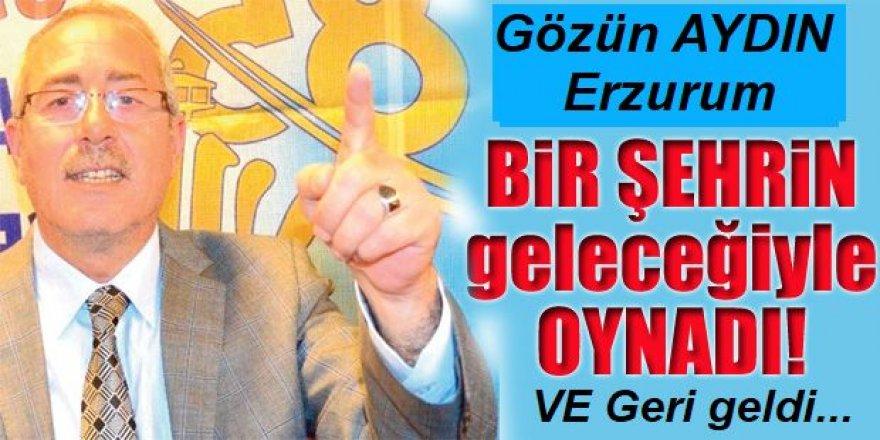 Erzurum'un alayı bir Hanifi etmiyor...