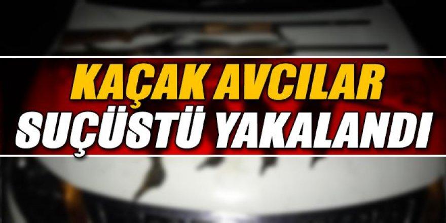 Erzurum'da kaçak avlanan 20 kişiye 22 bin 963 lira ceza kesildi