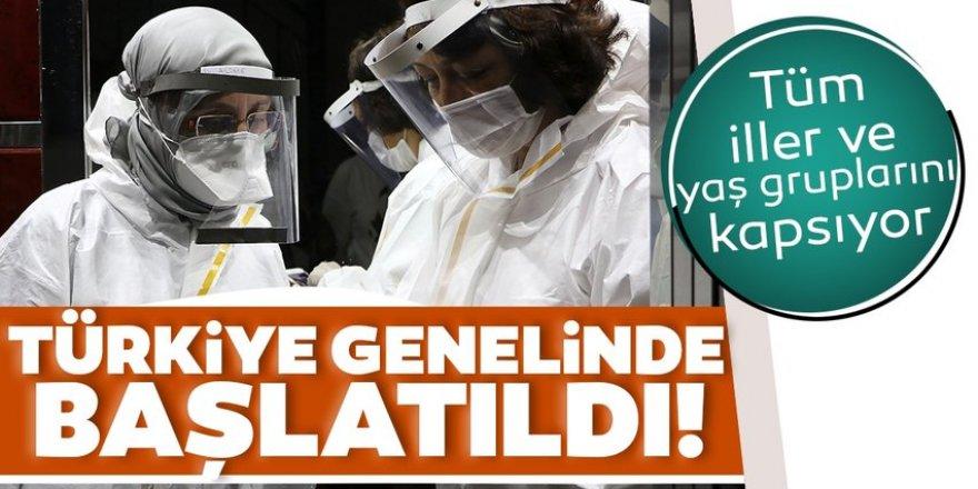 Sağlık Bakanlığı korona virüs görülme sıklığı araştırmasını Türkiye genelinde başlattı!