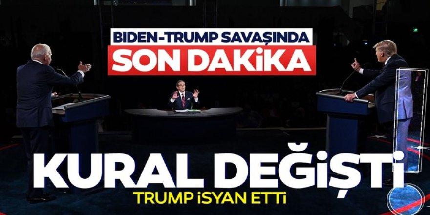 ABD seçimlerinde Trump Biden savaşında kurallar değişti!